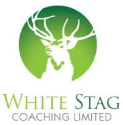 White Stag Coaching Logo